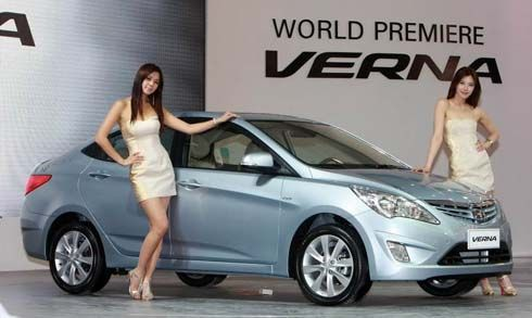 Hyundai Verna (Accent) ปี 2011 ซีดานเล็กถอดแบบจาก Sonata เปิดตัว Beijing Motor Show