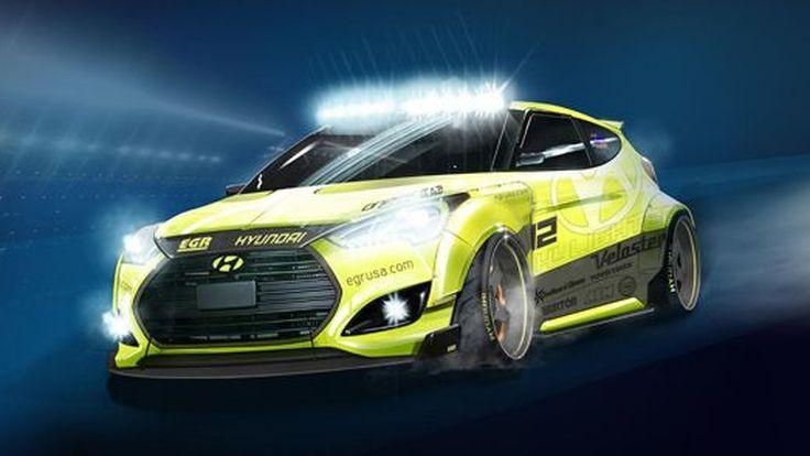 Hyundai Yellowcake Veloster Turbo รถสปอร์ตแต่งเหลืองอ๋อย เตรียมโชว์ตัว SEMA