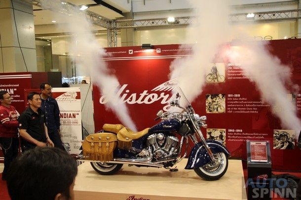 Indian-Victory อวดโฉม  2014 INDIAN CHIEF  ใน BMF 2014