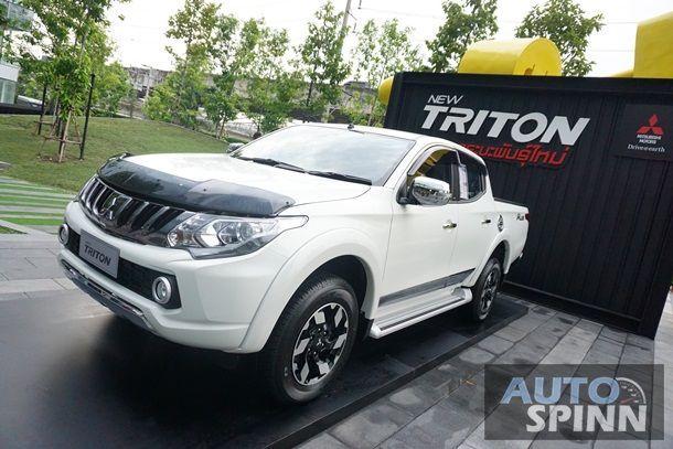 Mitsubishi ออกไทรทันรุ่นใหม่ กระทุ้งยอดขายปิกอัพเพิ่ม 2,500 คัน ในไตรมาสสุดท้ายของปี