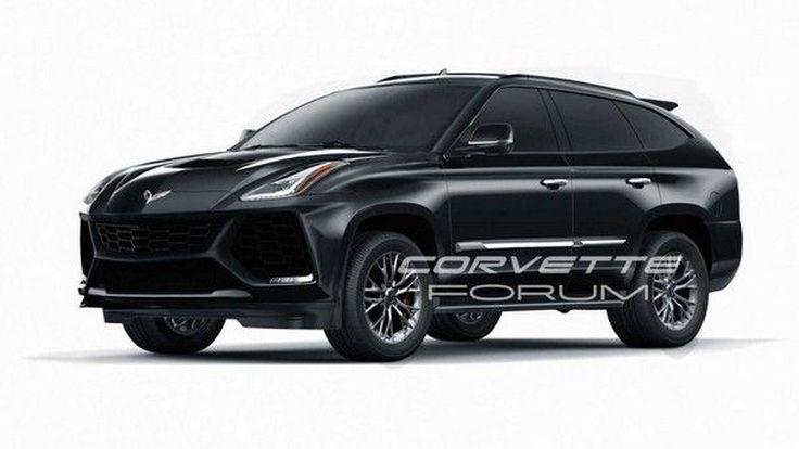 ก็สวยไปอีกแบบ !! ภาพออกแบบ Chevrolet Corvette เวอร์ชั่น SUV