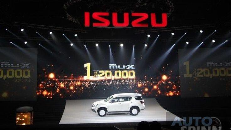 Isuzu MU-X ครบรอบ 1 ปี  ฉลองความสำเร็จกับการกวาดยอดขาย  2 หมื่นคัน