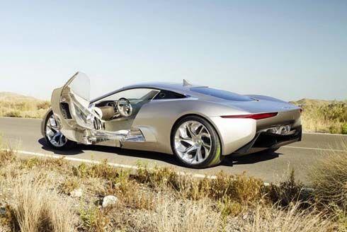 Jaguar C-X75 Concept ซุปเปอร์คาร์แนวคิด 780 แรงม้า พลังไฟฟ้า+เครื่องยนต์เทอร์ไบน์