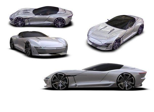 Jaguar C-Xonca คอนเซปต์ซูเปอร์คาร์ 2 ประตู รุ่นใหม่ที่มาพร้อมรูปลักษณ์สุดล้ำ