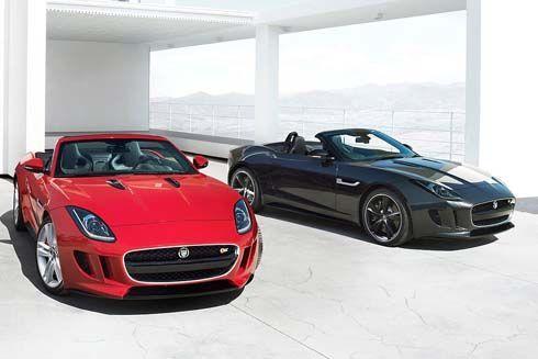 เผยภาพแรก Jaguar F-Type 2014 รถสปอร์ตโรดสเตอร์เปิดหลังคารับลม