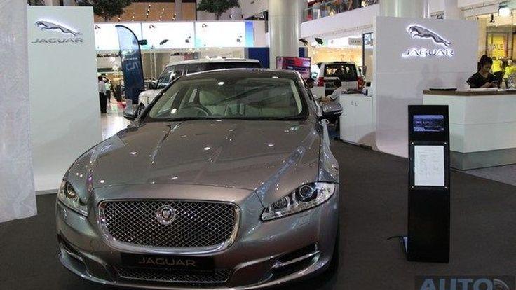 Jaguar, Land Rover  โกยยอดสั่งซื้อในงานรวมกว่า 50 ล้านบาทในงาน Mega Auto Show 2014