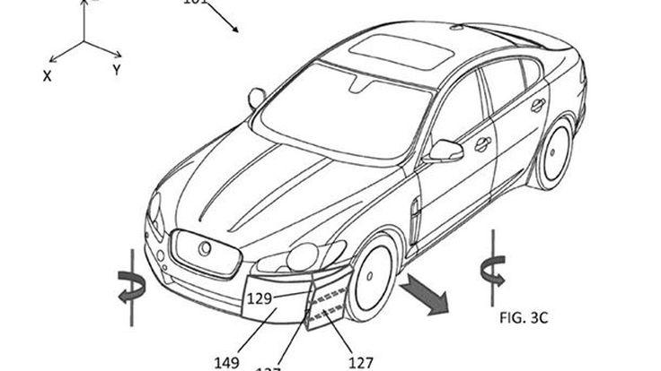 Jaguar Land Rover จดสิทธิบัตรระบบแอโรไดนามิกแห่งอนาคต