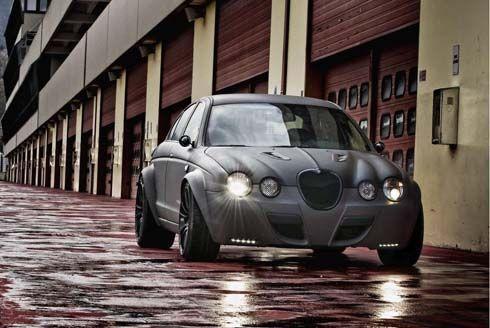 Jaguar S Type R เสือกระโจนสุดหรูมาในชุดแต่ง Vintage GT โดย Panzani Design