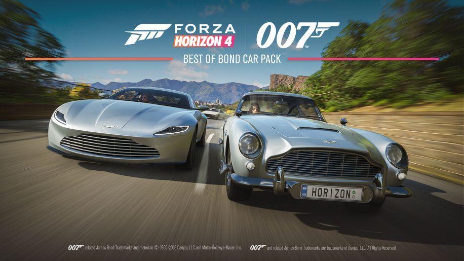 สัมผัสกับเหล่ารถของสายลับ 007 เจมส์ บอนด์ ในเกม Forza Horizon 4