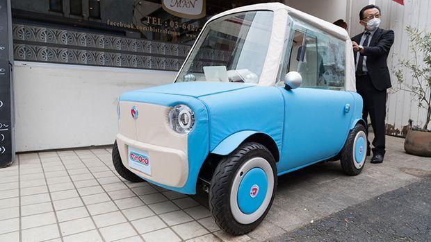 Rimono EV รถพลังงานไฟฟ้าจิ๋วแจ๋วน่ารัก