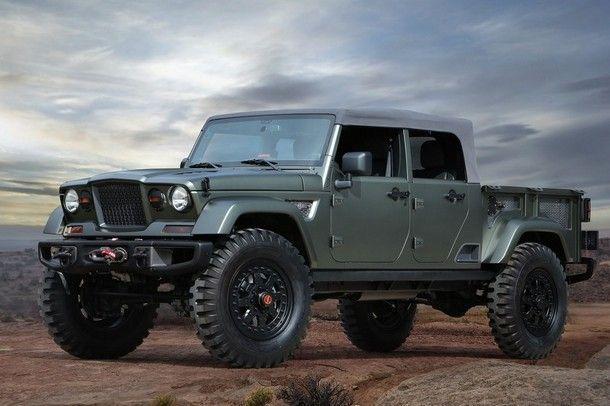 ได้แบบนี้ คงจะหล่อไม่เบา !! Jeep เปิดเผยแนวคิดการออกแบบ รถยนต์ปิ๊คอัพของแบรนด์ ในอนาคต