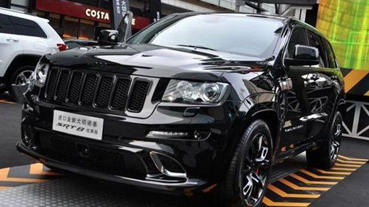 Jeep Grand Cherokee SRT8 Hyun Black Edition แต่งดำทะมึนสำหรับจีน
