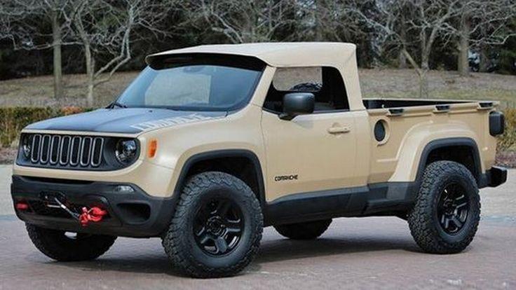 Jeep มีแผนกลับมาพัฒนารถปิคอัพขนาดกลางในอนาคต