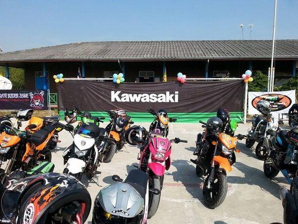 Kawasaki และ กลุ่มผู้ใช้ KSR  จัดงานวันเด็กที่โรงเรียนวัดราษฎร์ธรรมาราม ที่ ต.นาโคก อ.เมือง จ. สมุทรสาคร