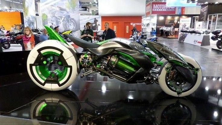 Intermot2014: Kawasaki J-Concept 3 ล้อสุดล้ำ เผยโฉมครั้งแรกในยุโรป