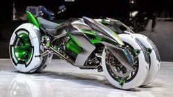 Kawasaki J Concept จักรยานยนต์สามล้อที่ปรับรูปแบบการขับขี่ได้