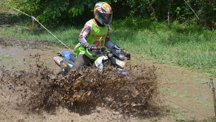 Kawasaki Riding Course Enduro Round2