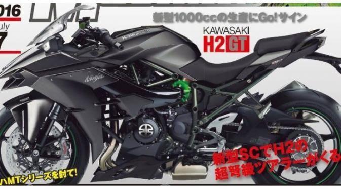 Kawasaki ปล่อยทีเซอร์ Supercharge เวอร์ชั่นทัวริ่งหรือจะเป็น H2 GT
