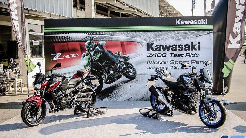 คาวาซากิเปิดโอกาสให้ผู้สนใจร่วมทดสอบ พร้อมสัมผัสซูเปอร์เน็คเก็ตน้ำหนักเบา ทรงพลัง ภายในงาน Kawasaki Z400 Test Ride