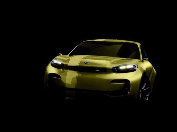 Kia CUB Concept รถต้นแบบสไตล์สี่ประตูคูเป้ เตรียมโชว์ความหล่อที่โซล มอเตอร์โชว์