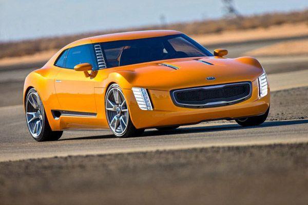 Kia GT4 Stinger รถสปอร์ตต้นแบบพลังโสม 315 แรงม้า