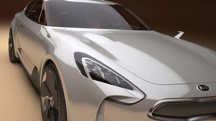 Kia Sports Sedan Concept อวดทรวดทรงก่อนไป Frankfurt Motor Show