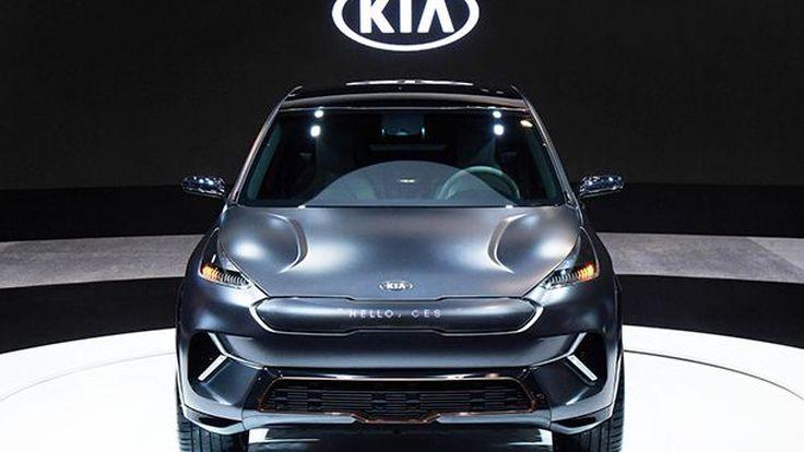 Kia เผยโฉม Niro EV รถพลังงานไฟฟ้าต้นแบบกำหนดแนวทางในอนาคต