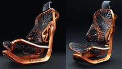 Kinetic Seat Concept ไอเดียต้นแบบเบาะที่นั่งโดย Lexus