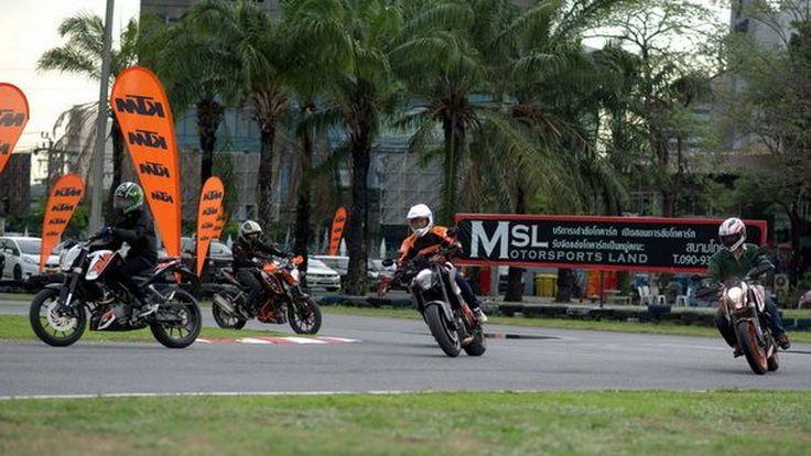 "KTM จัดกิจกรรม Test Ride  ""KTM TNT BANGKOK 2014"" ทุกรุ่นทุกแบบจัดเต็ม"
