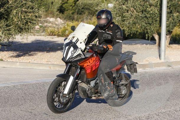 KTM 1190Adventure โมหน้ามาใหม่พร้อมใส่ชิลด์ปรับระดับ
