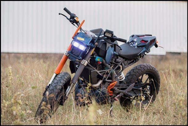 KTM Duke200 Chappie Custom จากงานออกแบบสู้งานสร้างที่พร้อมโลดแล่นบนถนน