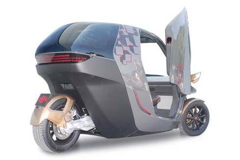 KTM E3W EV Concept สามล้อไฟฟ้า 20 แรงม้า ราคาดี เริ่มผลิตจำหน่ายในปี 2013