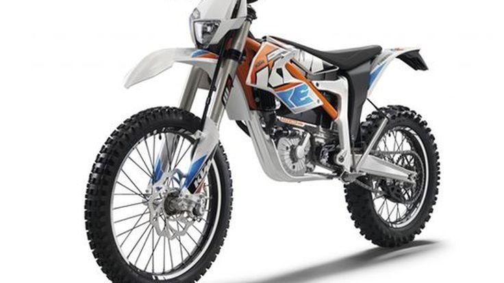KTM เปิดตัว Freeride E มอเตอร์ไซค์วิบากพลังไฟฟ้ารุ่นแรกของโลก