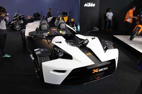 แวะชม KTM X-Bow ของเล่นคนรวยที่งาน 2011 Bangkok International Motor Show