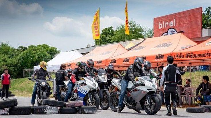 Kunka Corp จัดกิจกรรม Test Ride พรีเมี่ยมแบรนด์ KTM และ MV AGUSTA เจาะกลุ่มลูกค้าต่างจังหวัด