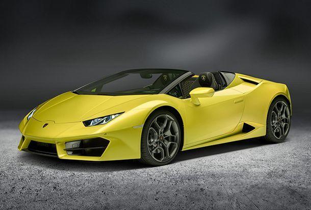 [LA Auto Show 2016] Lamborghini Huracan LP 580-2 Spyder ขับสองเปิดหลังคาก็ยังโหดได้