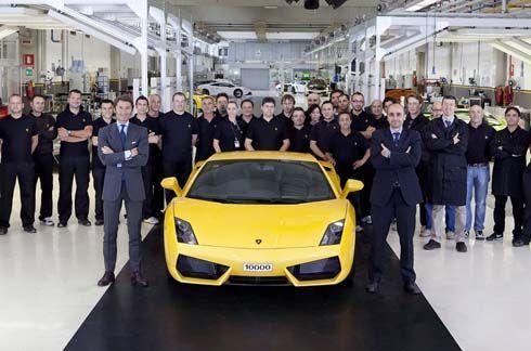 Lamborghini ฉลองผลิต Gallardo ซุปเปอร์คาร์ขายดีตลาดกาลคันที่ 10000 รอส่งมอบให้ลูกค้าชาวจีน