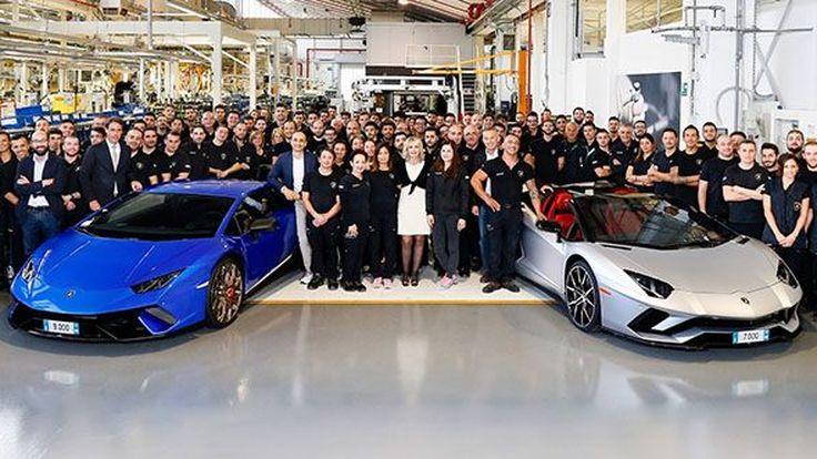 Lamborghini ปิดยอดขายปี 2017 สร้างสถิติใหม่เป็นปีที่ 7 ติดต่อกัน