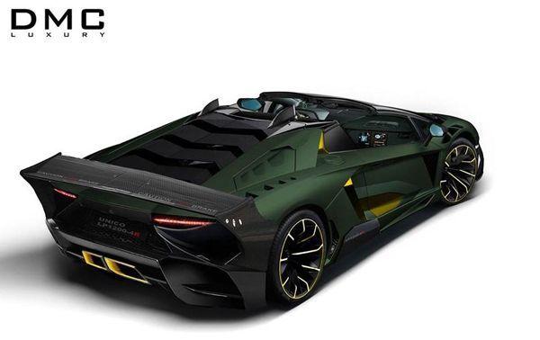 Lamborghini Aventador LP1200-4R แต่งต้นแบบสุดโหดเหี้ยมโดย DMC