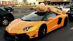 Lamborghini Aventador DMC  แปลงร่างเป็นรถส่งตุ๊กตาหมี  Hi-So ที่สุดในจีน