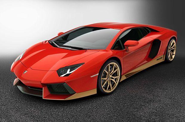 "Lamborghini Aventador Miura Homage ซูเปอร์คาร์รุ่นพิเศษฉลอง 50 ปี ""Miura"""