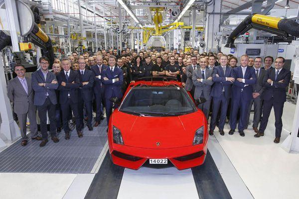 "Lamborghini ผลิต Gallardo เวอร์ชั่นสุดท้าย ""LP 570-4 Spyder Performante"""