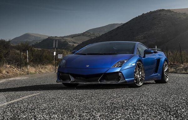 Lamborghini Gallardo อัพเกรดแบบเบาๆ โดย Vorsteiner