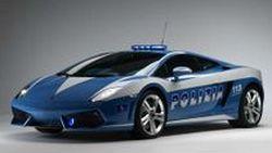 Lamborghini Gallardo LP560-4 Polizia รถตำรวจลาดตระเวนแดนมักกะโรนี