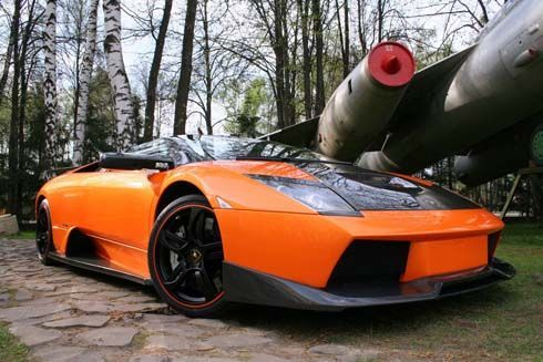 Lamborghini Murcielago แต่งโฉมจาก Status Design ส้มจี๊ดโดนใจใช้คาร์บอนไฟเบอร์และหนังจระเข้