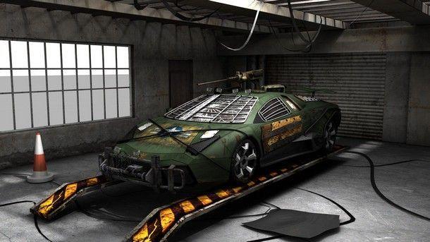 ว่าที่รถประจำการใหม่ของซีรีส์ Walking Dead กับ Lamborghini Reventon เวอร์ชั่นพร้อมลุยทัพซอมบี้