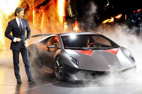 Lamborghini Sesto Elemento ซุปเปอร์คาร์แนวคิดตัวหวิว เผยโฉมที่ Paris Motor Show