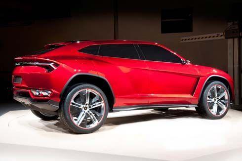 เปิดตัว Lamborghini Urus Concept กระทิงดุสายพันธุ์ใหม่ในงาน Auto China Show 2012