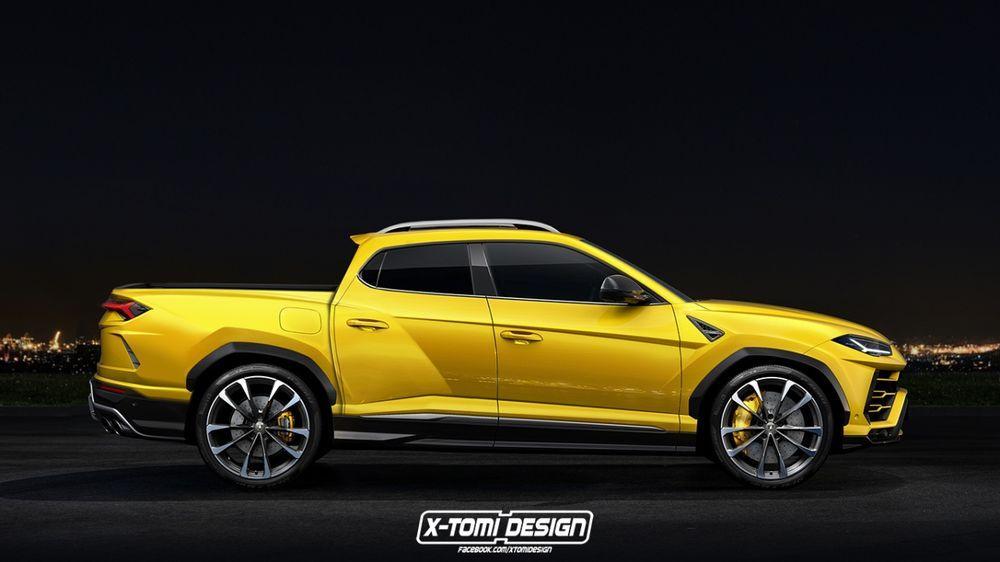 ว่าแล้วต้องมา !! Lamborghini Urus เวอร์ชั่น Pickup และ Coupe จากสำนักชื่อดัง X-Tomi Design