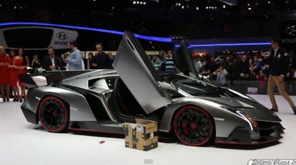 ผู้ชมสะท้าน! Lamborghini Veneno โชว์พลังเสียงขุมพลัง V12 740 แรงม้า